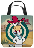 Quick Draw Mcgraw - Quick Draw Target Tote Bag Tote Bag