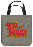 Tom And Jerry - Logo Tote Bag Tote Bag