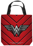 Justice League of America - Ww Emblem Tote Bag Tote Bag