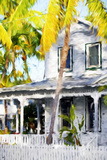 Colonial House VII - In the Style of Oil Painting Giclee Print by Philippe Hugonnard