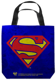Superman - Galvanized Shield Tote Bag Tote Bag