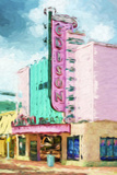 Old Theater - In the Style of Oil Painting Giclee Print by Philippe Hugonnard