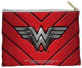 Justice League of America - Ww Emblem Zipper Pouch Zipper Pouch