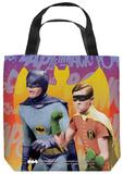 Batman Classic Tv - Biff Bang Pow Tote Bag Tote Bag