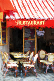 Paris Restaurant - In the Style of Oil Painting Giclee Print by Philippe Hugonnard