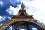 La Tour Eiffel Giclee Print by Philippe Hugonnard