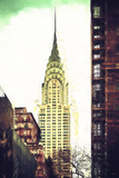 Chrysler Building Giclee Print by Philippe Hugonnard