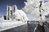 Romantic City - In the Style of Oil Painting Giclee Print by Philippe Hugonnard