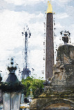 Paris Concorde II - In the Style of Oil Painting Giclee Print by Philippe Hugonnard