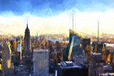 New York Cityscape III Giclee Print by Philippe Hugonnard