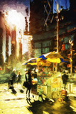 New York Life - In the Style of Oil Painting Giclee Print by Philippe Hugonnard