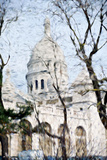 Sacre Cœur Basilica - In the Style of Oil Painting Giclee Print by Philippe Hugonnard