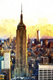 1WTC & Empire State II Giclee Print by Philippe Hugonnard
