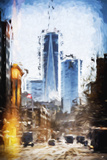 World Trade - In the Style of Oil Painting Giclee Print by Philippe Hugonnard