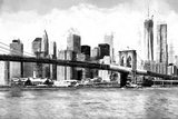 New York Cityscape Giclee Print by Philippe Hugonnard