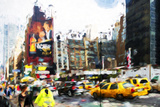 Downtown - In the Style of Oil Painting Giclee Print by Philippe Hugonnard
