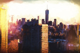 New York Midtown Giclee Print by Philippe Hugonnard