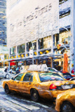 Urban City II - In the Style of Oil Painting Giclee Print by Philippe Hugonnard