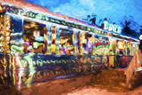 Diner - In the Style of Oil Painting Giclee Print by Philippe Hugonnard