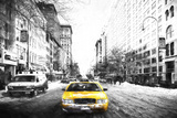 Taxi Express Giclee Print by Philippe Hugonnard