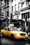 Union Square Taxi Giclee Print by Philippe Hugonnard