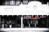 Coney Island Subway Station Giclee Print by Philippe Hugonnard