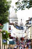 Street Scene Paris Montmartre Giclee Print by Philippe Hugonnard
