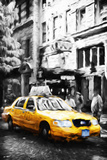 Manhattan Taxi IV - In the Style of Oil Painting Giclee Print by Philippe Hugonnard