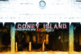 Coney Island Station Giclee Print by Philippe Hugonnard