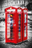 Telephone Booth II - In the Style of Oil Painting Giclee Print by Philippe Hugonnard