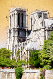 Notre Dame Cathedral - In the Style of Oil Painting Giclee Print by Philippe Hugonnard