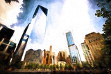 One World Trade Center District Giclee Print by Philippe Hugonnard