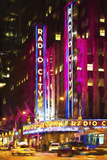 Radio City Music Hall Giclee Print by Philippe Hugonnard
