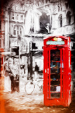 London Love - In the Style of Oil Painting Giclee Print by Philippe Hugonnard