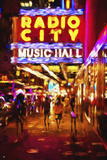 Radio City Music Hall II - In the Style of Oil Painting Giclee Print by Philippe Hugonnard