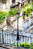 Parisian Lamppost IV - In the Style of Oil Painting Giclee Print by Philippe Hugonnard