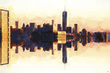NYC Second Sight Giclee Print by Philippe Hugonnard
