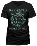 Black Veil Brides - Heart Of Fire (slim fit) T-Shirt