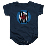 Infant: The Who- Logo Onesie ロンパース