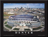 Dever Broncos- New Invesco Field Mounted Print