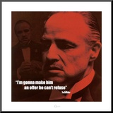 The Godfather: The Offer Mounted Print
