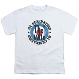 Youth: The Who- My Generation Distressed T-Shirt