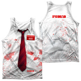 Tank Top: Shawn Of The Dead- Bloody Shirt (Front/Back) Tank Top