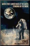 Alan Shepard Moon Walk Lámina montada en tabla por Lynx Art Collection