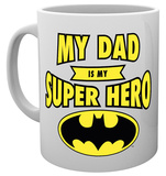 Dc Comics Batman Dad Superhero Mug Krus