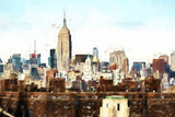 Midtown Skyline Giclee Print by Philippe Hugonnard