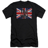 The Who- Flag Logo (Slim Fit) T-shirts