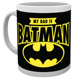 Dc Comics My Dad Is Batman Mug Mug