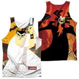 Tank Top: Samurai Jack- Eternal Foes (Front/Back) Tank Top