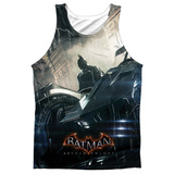 Tank Top: Batman: Arkham Knight- Into The Night Tank Top